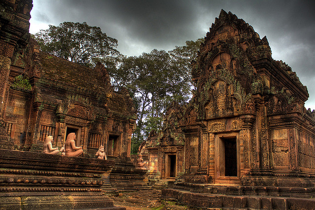 Angkor in Seam Reap