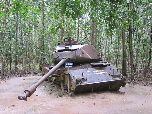 Cu Chi Tunnel in Ho Chi Minh City Tours