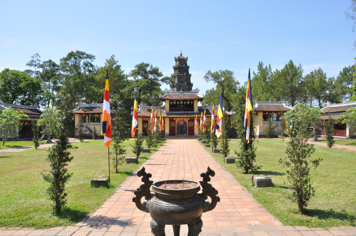 Temple Thien Mu in Hue City