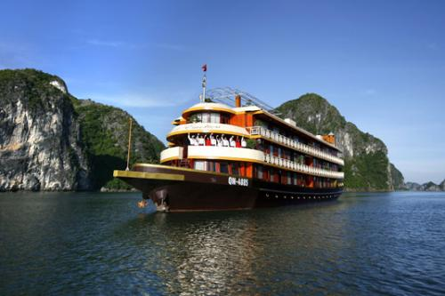 http://vietpowertravel.com/data/tour/Cruises in Halong Bay: Emotion Ha Long Cruise 3 Days