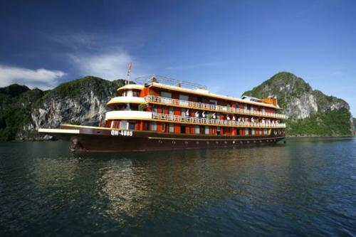 http://vietpowertravel.com/data/tour/Cruises in Halong Bay: Emotion Ha Long Cruise 2 Days