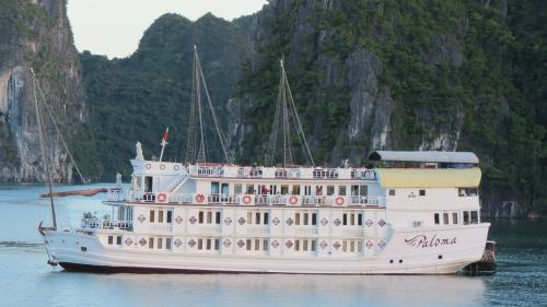 http://vietpowertravel.com/data/tour/Cruises in Halong Bay: Paloma Cruise Itinerary 3 Days