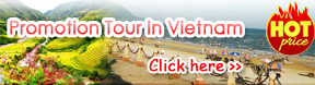 Hot Promotion tour in vietnam