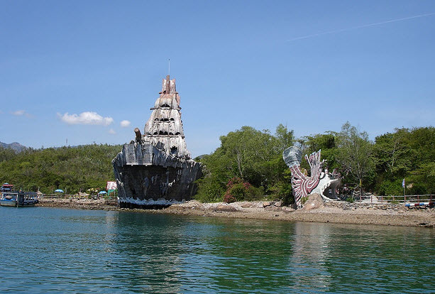 Tours island in Nha trang